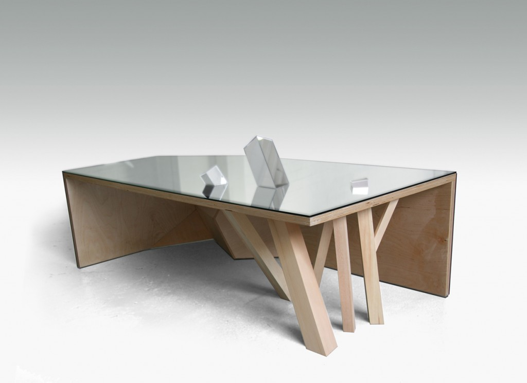 Mirror table by f lix guyon design for Miroir de dentiste