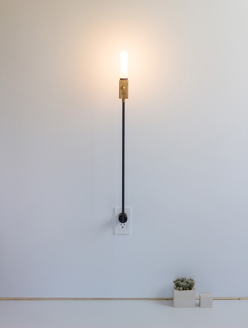 Wald Plug Lamp By Feltmark Design