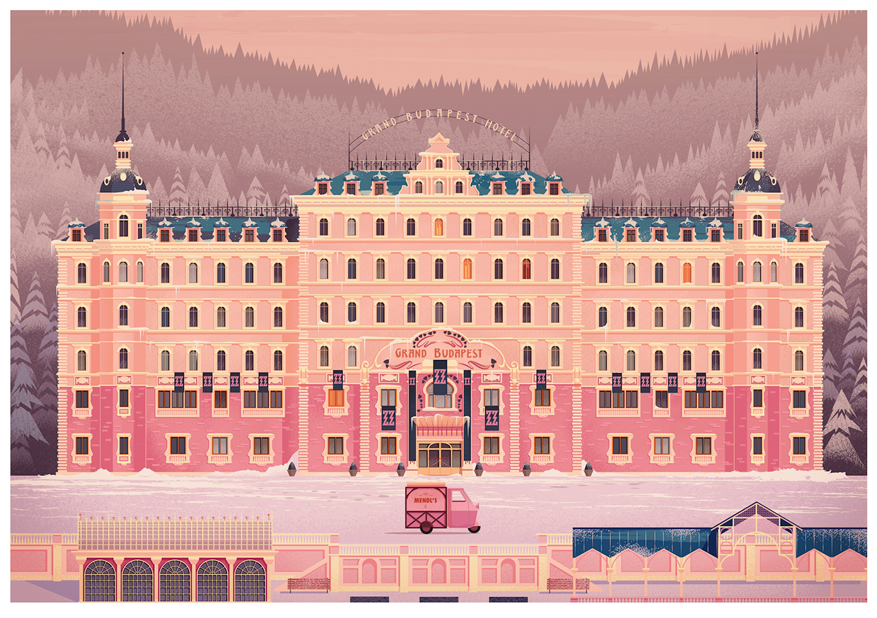 Grand budapest hotel by james gilleard design for Top design hotels budapest