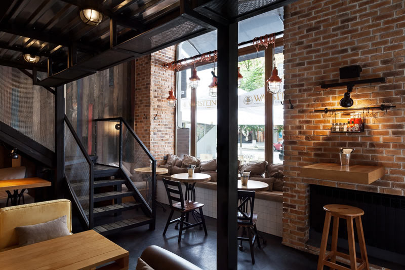 True burger bar by kleydesign studio design