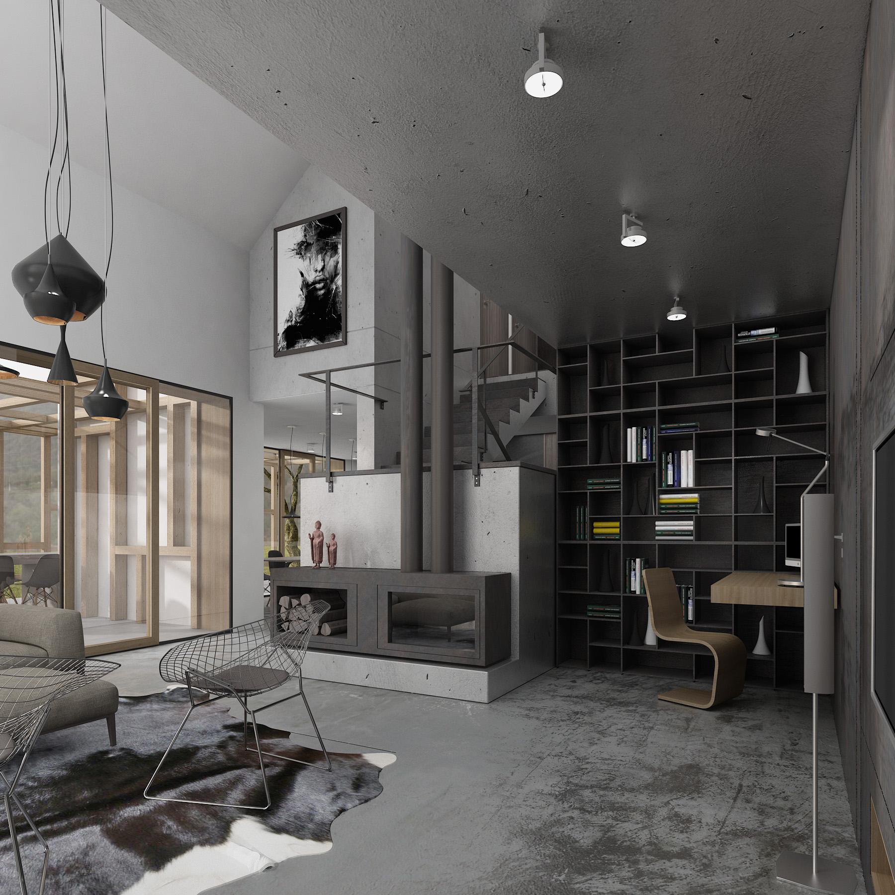 House Miko Interior By Sono Architects Design