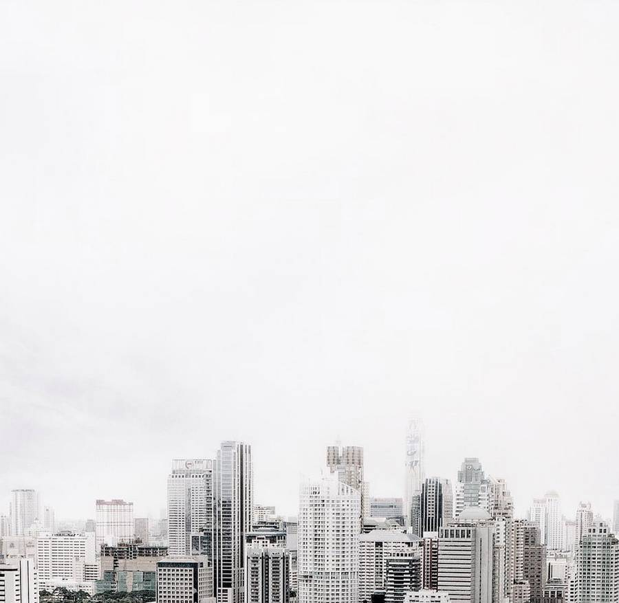 Minimalist Photography Of Bangkok By Alif Korsem Design