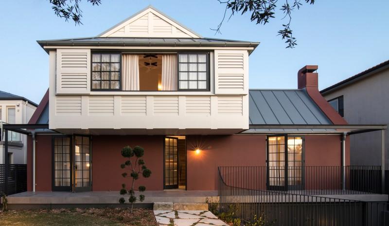 Balancing House By Luigi Rosselli Architects Design