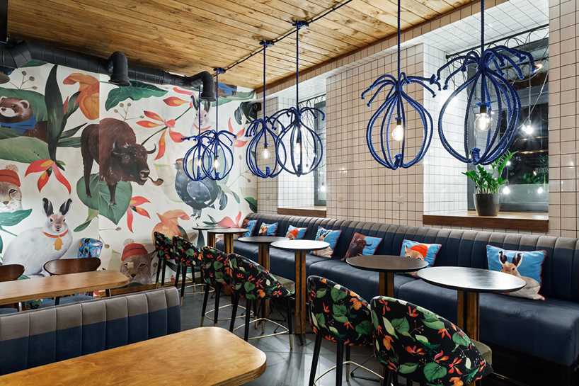 The Blue Cup Coffee Shop By Kleydesign Design