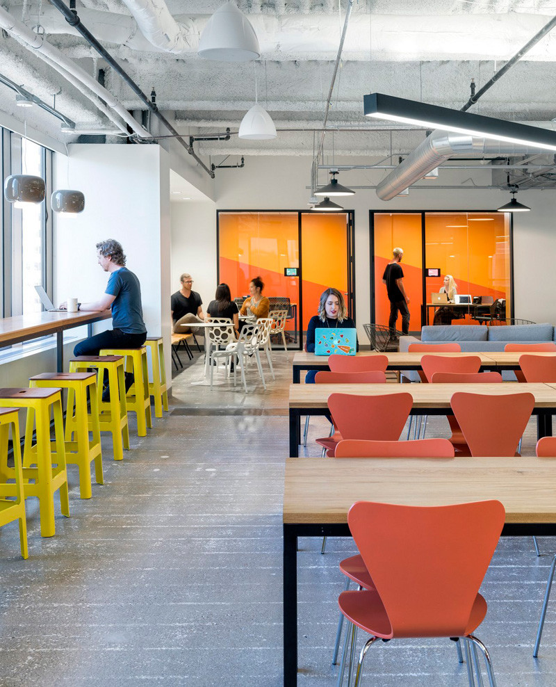 Instacart Office In San Francisco By Blitz Design