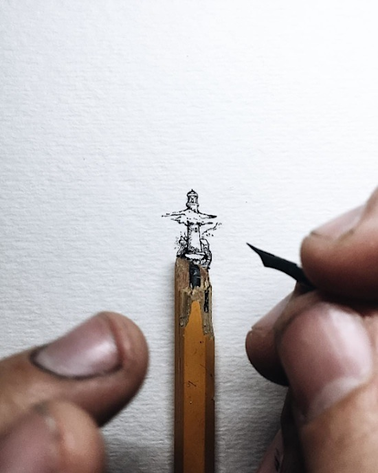 Pencil_Top_Drawings_Detailed_Micro_Illustrations_That_Seem_To_Balance_On_Pencil_Tips_2016_01