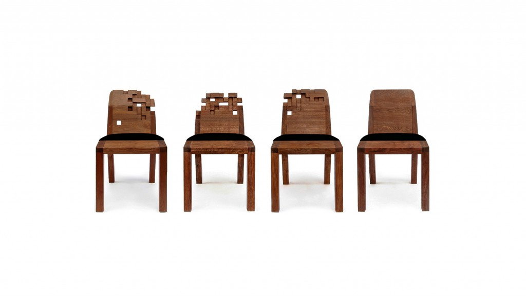 Pixel Chairs By Studio Olivier Doll 233 Design