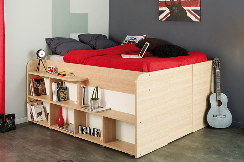 Space Up Bed With Storage From Parisot Design