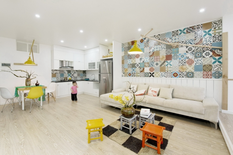 Ceramic-Tiles-Used-as-a-Decorative-Material-HT-Apartment-in-Vietnam-7