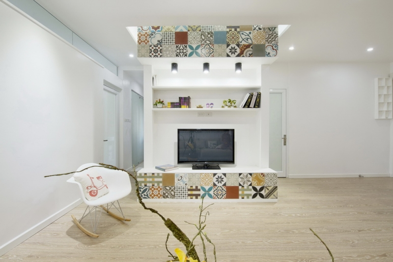 Ceramic-Tiles-Used-as-a-Decorative-Material-HT-Apartment-in-Vietnam-9