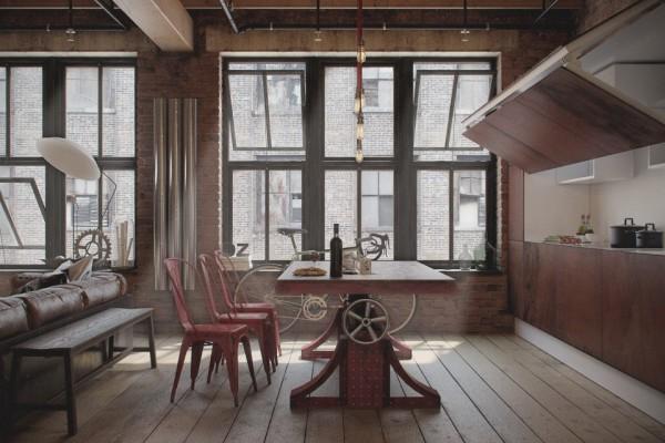 Den-Loft-Chic-loft-style-studio-by-Nordes-1024x640