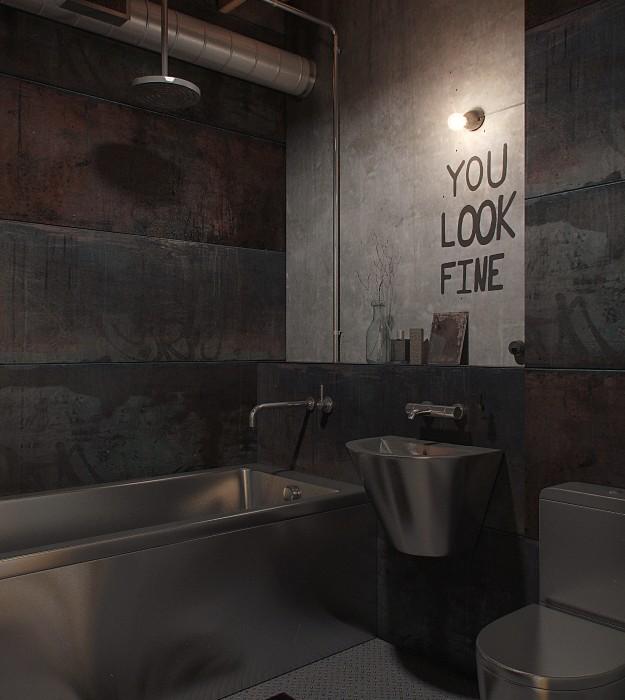 Den-Loft-Chic-loft-style-studio-by-Nordes-14
