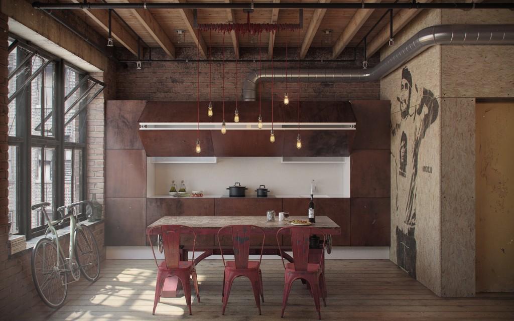 Den-Loft-Chic-loft-style-studio-by-Nordes-3-1024x640