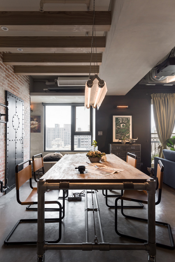 Loft In Taiwan For A Couple 3 Cats Design