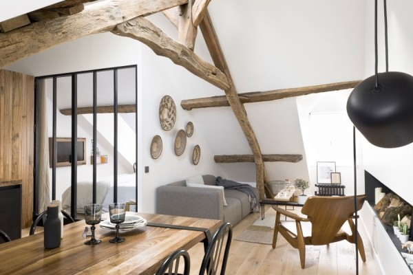 Saint-Paul-Apartment-18th-Century-Paris-Loft-Renovated-with-Eclectic-Charm-1