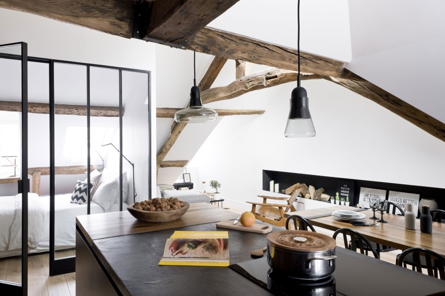 Saint-Paul-Apartment-18th-Century-Paris-Loft-Renovated-with-Eclectic-Charm-4