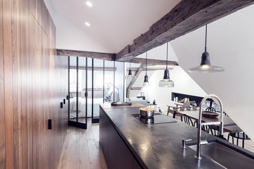 Saint-Paul-Apartment-18th-Century-Paris-Loft-Renovated-with-Eclectic-Charm-8