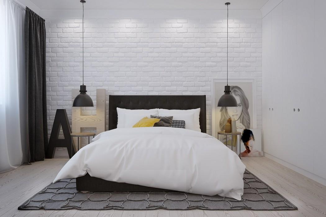 artistic-scandinavian-bedroom