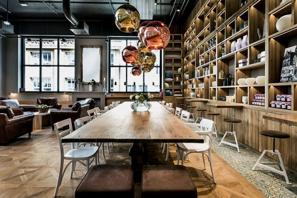 Pano Brot & Kaffee in Stuttgart by Dittel Architekten