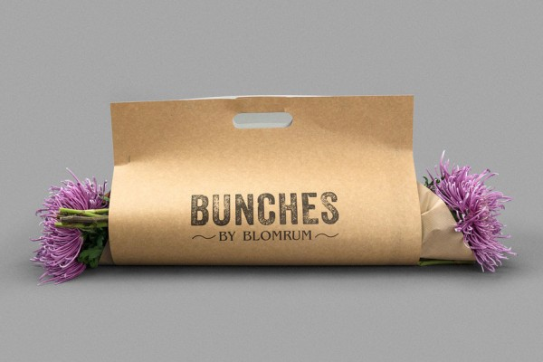 Bunches by Blomrum | Packaging Design