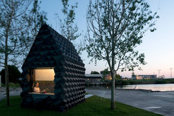 3D-Printed Cabin by DUS Architects