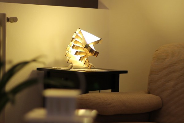 MTJ Spiral Lamp will complete your interior styling
