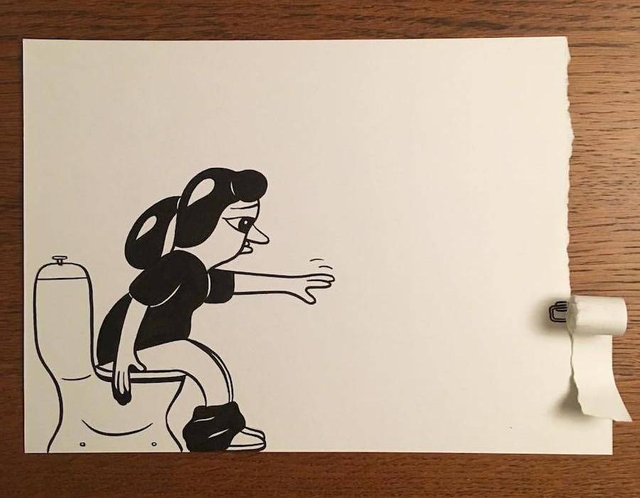 inventive-and-hilarious-3d-paper-cuts-19-900x900