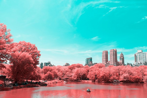 Infrared New York City by Paolo Pettigiani