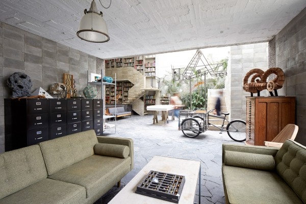 The home of Pedro Reyes and his wife Carla Fernandez