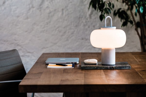 Portable Luminaire designed by Alfredo Häberli for Astep
