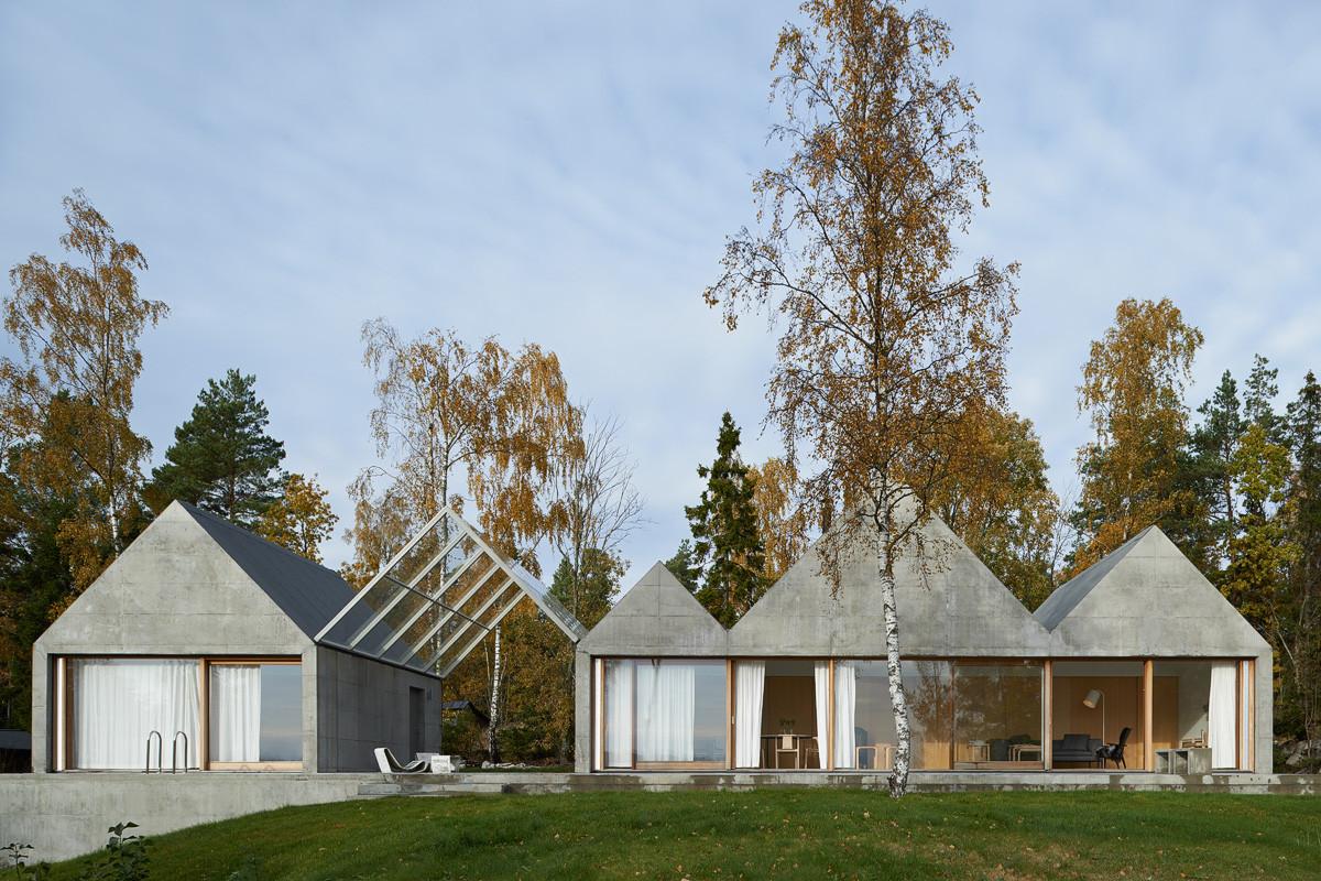 Summerhouse Lagn 246 By Tham Amp Videg 229 Rd Arkitekter Design