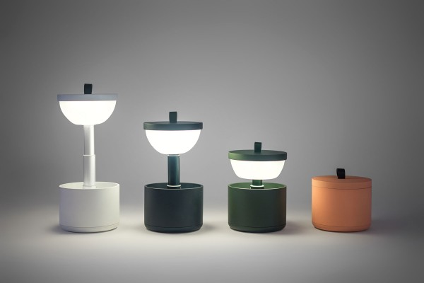 Bento portable lamp by YUUE Studio