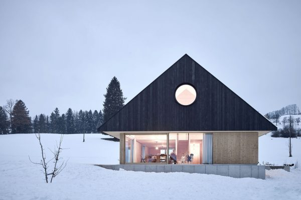 Haus mit GIEBEL by mia2/Architektur