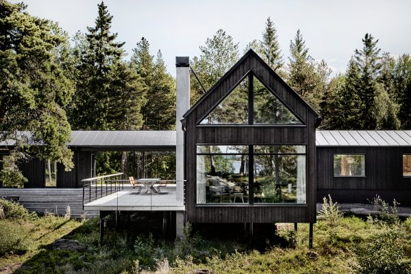 Summer House in the Stockholm Archipelago by Kod Arkitekter