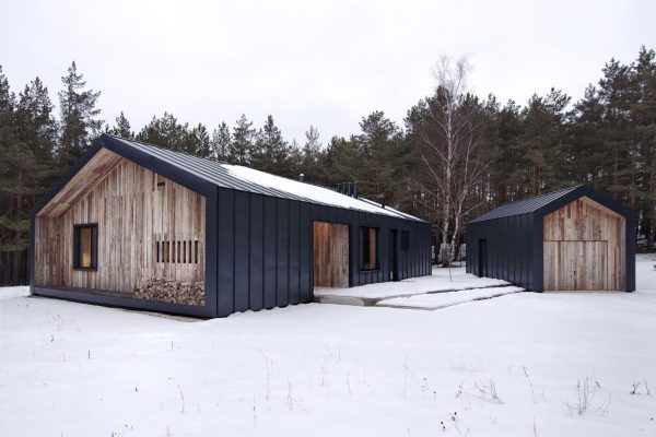 HOUSE ILL in Latvia designed by INT2 architecture