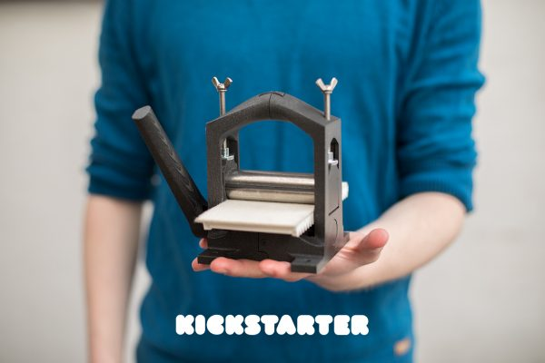 Printmaking for everyone, Open Press Project on Kickstarter