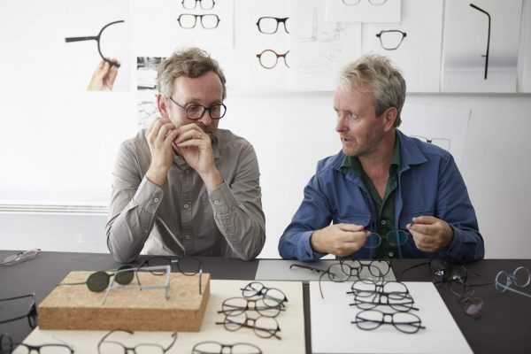 JINS Eyewear collaboration with Ronan & Erwan Bouroullec