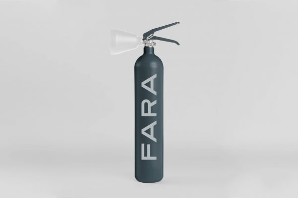 Fire extinguisher design by FARA