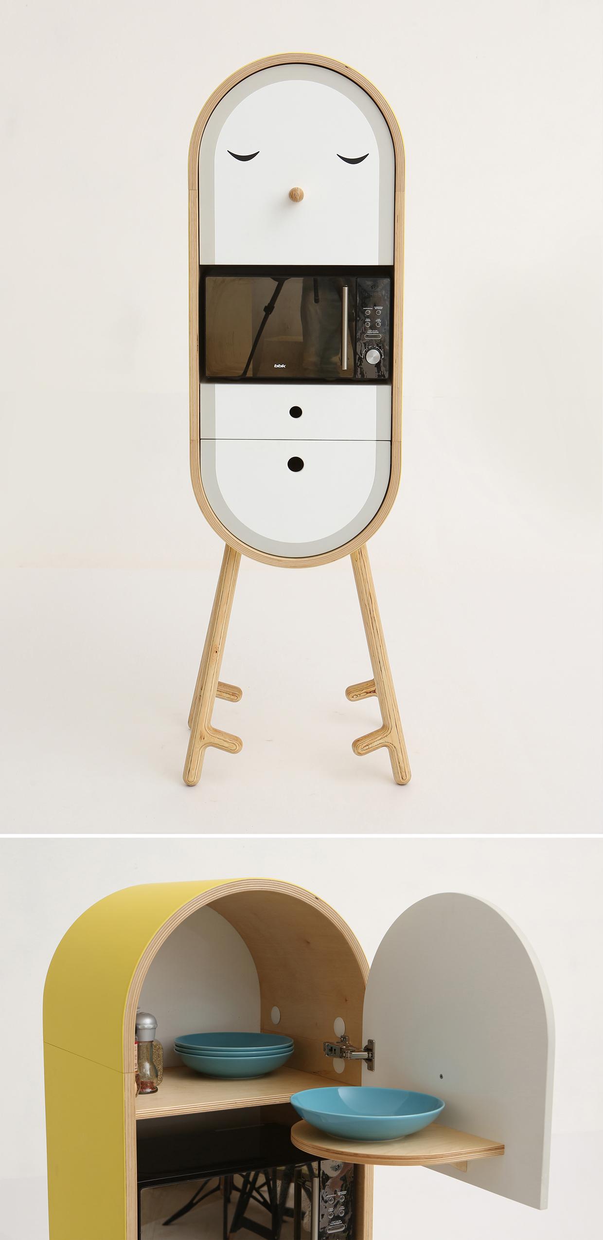 Lolo The Capsular Micro Kitchen Design