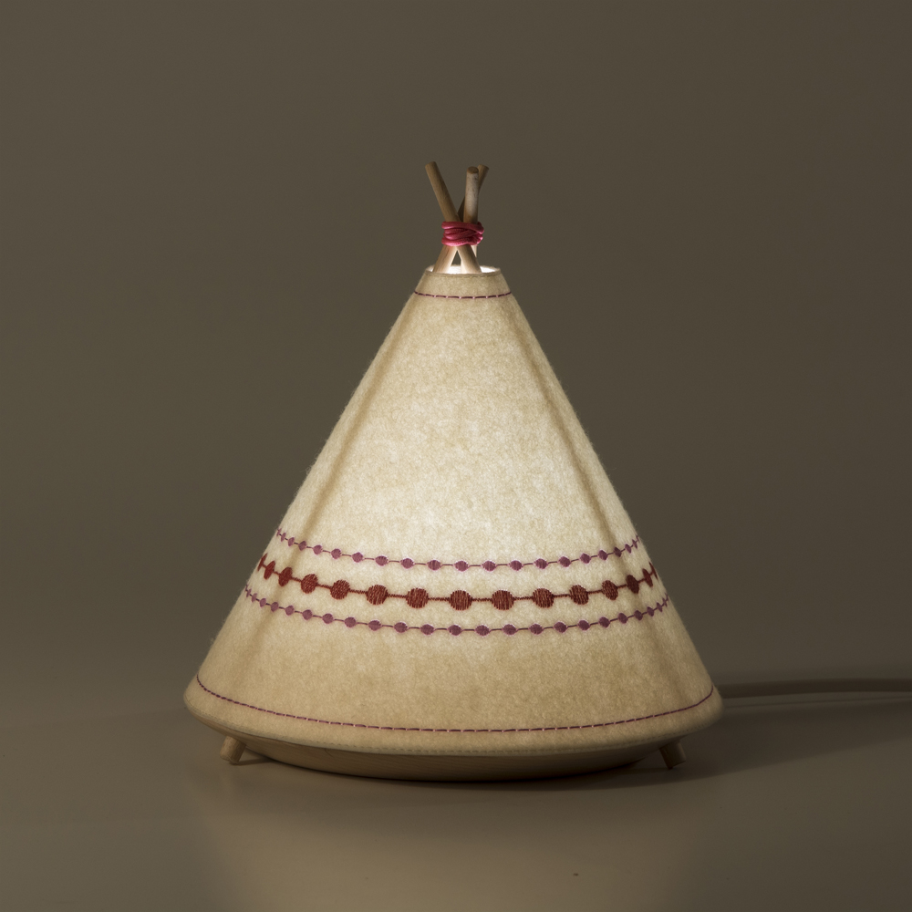Tipi Lamp By Javier Herrero Studio Design