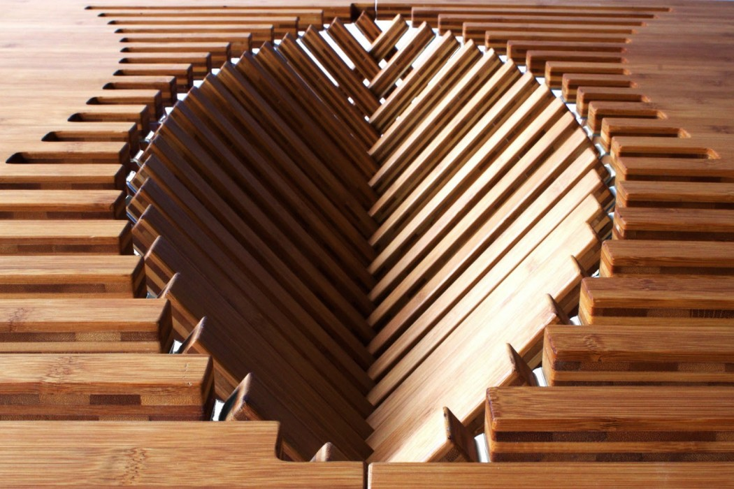 rising table beating heart