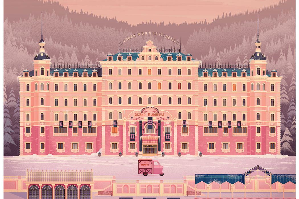 Exhibition Stand Design Magazine : Grand budapest hotel by james gilleard design