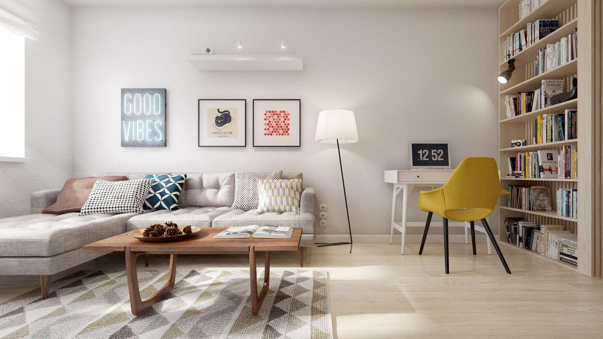 Interior va by int2 architecture design for Nordic furniture style