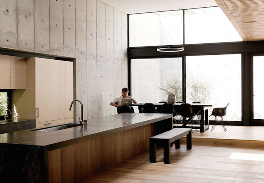 Concrete Box House By Robertson Design Design