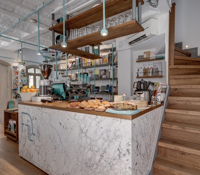 FiL Books: Book Store & Coffee Shop in Istanbul