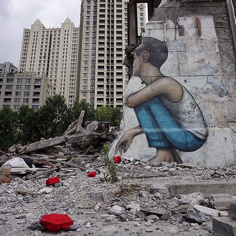 Street Artist Julien Malland Aka Seth Globepainter Design