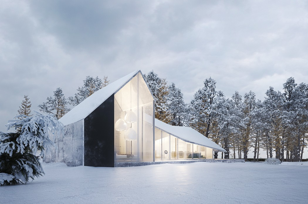 Winter House By Sergey Makhno Architects Design
