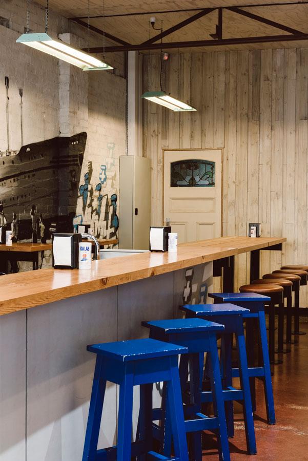 Jimmy Grants Stylish Souvlaki Bar