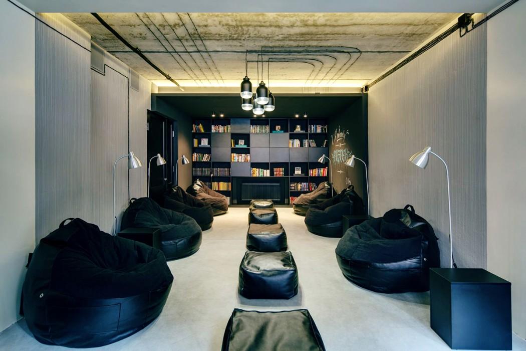 Botan Nerd Library By Sergey Makhno Architects Design