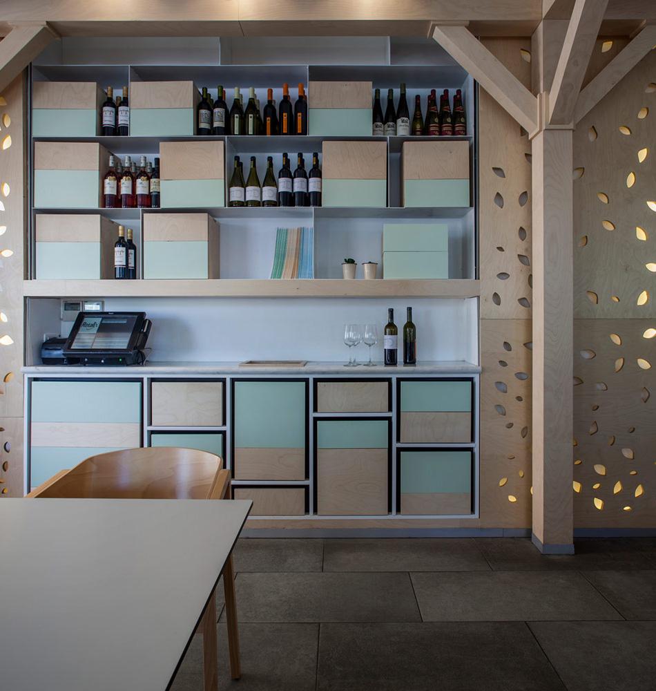 GREENHOUSE CAFE BY RONI KEREN INTERIOR DESIGN STUDIO